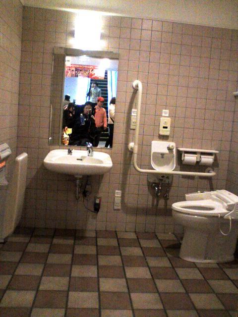 アクアシティのトイレ2