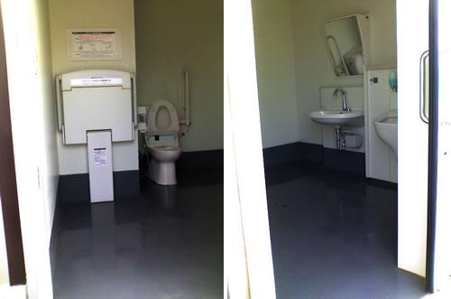 車椅子トイレ内部①&②